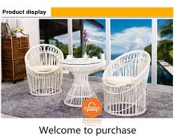 hot round coffee table chairs set