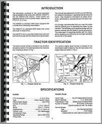 long 2460 tractor operators manual tractor manual