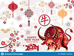 Chinese new year 2021 year ox red logo vector. Ox Year 2021 Background New Year 2021 Glittery Sticker Png In Transparent Background