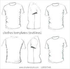 Free Vector T Shirt Template Collar Sweatshirt Illustrator