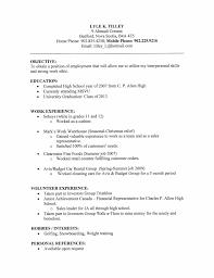 Beautiful Resume Template High School Aguakatedigital Templates