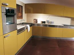 Yellow And Brown Kitchen Yellow Kitchens