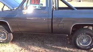 1986 Chevy Silverado SWB C10 4x4 - YouTube