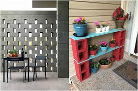 Um jardim feito com blocos de concreto. 15 Ideias De Como Usar Blocos De Concreto Na Decoracao Veja Fotos Alto Astral