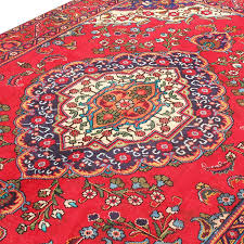 6 8 x 9 9 classic red persian rug fl design from
