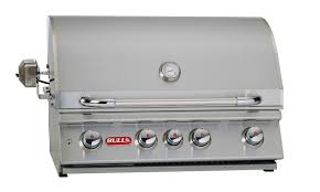 bull angus built in with lights gas bbq natural gas bull rock solid gas barbecues the garden bbq centre keen gardener