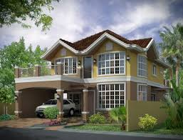 Exterior House Design Photos Set Plans