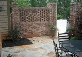 brick courtyard brick patios brick fence