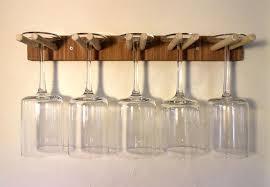 diy wine glass rack s plans ideas