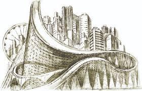 architectural building sketches. Sketch Urban Building Vector Architectural Sketches