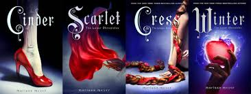Image result for the lunar chronicles book covers