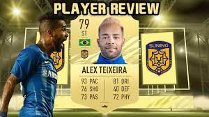 THIS CARD IS BROKEN! 79 ALEX TEIXEIRA PLAYER REVIEW! FIFA 21 ULTIMATE TEAM  - YouTube