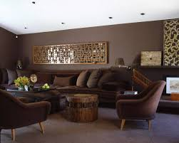 brown living room. color code: brown living room o