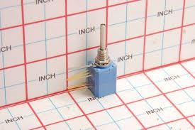 clarostat cl 212554 potentiometer 20k ohm spdt switch