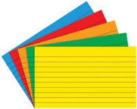 3x5 Cards 3x5 Primary Asst Index Cards Blank Top Notch Teacher