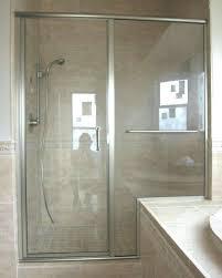 barn door with glass barn style shower door glass doors sliding double hardware sliding barn door with clear glass
