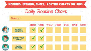 Kids Daily Routine Chart Kids Daily Routine Activities On The App Store