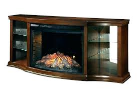 electric fireplace reviews insert wall fireplaces built best muskoka curved mount 42