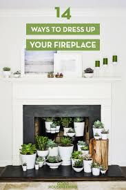 Mantle Without Fireplace Fireplace Decor Designs For A Faux Fireplace
