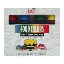 Colorante Vegetal Badia Para Alimentos 4 Pzas Walmart
