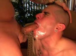 Gay throat gagging men