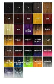 Kanekalon Braiding Hair Color Chart Auburn Kanekalon Hair
