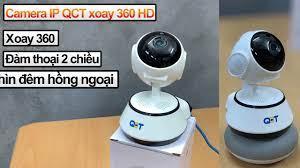 Camera IP giám sát QCT PTZ 360 HD Basic - YouTube