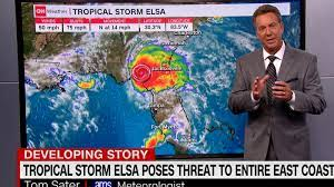 Elsa forecast: Tropical Storm now poses ...
