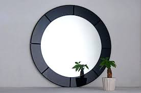 Decorating A Wall With Mirrors In Frames Fancy Mirror Frames