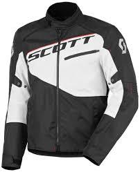 scott sport 2 dp blouson black white onroad jackets scott boyle scott redding