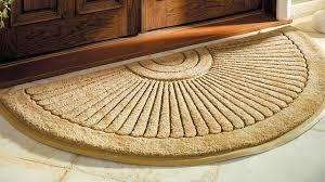 Half Round Door Mats Outside Exteriors : Charming Coir Doormat ...