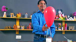 balloon inflation magic vinegar and baking soda in hindi balloon inflation magic vinegar and baking soda in hindi easy science project for kids
