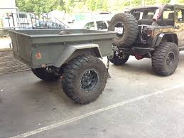 Jk Bolt Pattern Impressive Our M48 Military Trailer Project Offroad Elements Inc