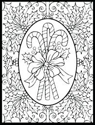 Printable Christmas Coloring Pages Pdf Coloring Pages For Adults