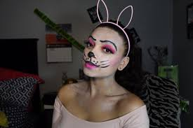 Small Picture Bunny Makeup Halloween Tutorial YouTube