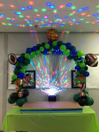 Sports Themed Balloon Decor Premiere Balloon Decor For Your Event In Raleigh Nc