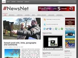 Top 10 Best Free News Blogger Templates Welcom To World Of