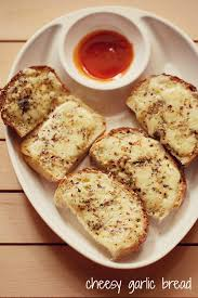 Cheese Garlic Bread Recipe How To Make Cheese Garlic Bread