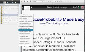 statistics problem solver online how to easily solve  statistics made easy step by step the ti nspire cx cas