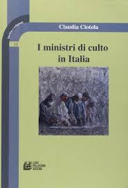 Amazon.it: I ministri del culto in Italia - Ciotola, Claudia - Libri
