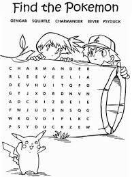 Find The Pokemon Coloring Pages Pokemon Pokemon Coloring