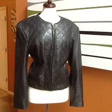 details about preston and york lamb leather jacket euc