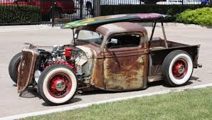 ford pick up rat rod surf truck 1930 autocar regeneration