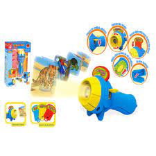 Çocuklar hayvan desen projektör el feneri Torch oyuncak okul öncesi  oyuncaklar uyku hikaye eğitim hediye|Biyoloji
