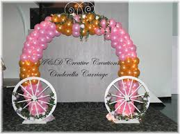 Princess Balloon Decoration Room Decoration With Flowers And Balloons