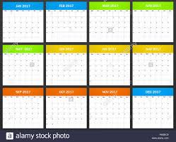 European Planner Blank For 2017 Scheduler Agenda Or Diary Template