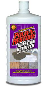 pour n re oil stain remover get