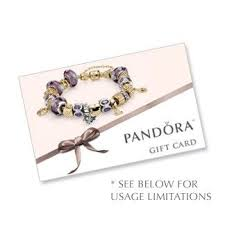 pandora jewelry paper cards gift cards giving stuff gift vouchers