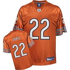Bears Jersey Nfl Forte Chicago Reebok Orange Matt Youth