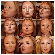 rc cosmetics step by step tutorial highlight contour makeup